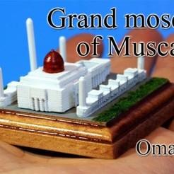 Descargar STL gratis Mezquita del Sultán Qaboos -mujer-, tokyovirtualworld