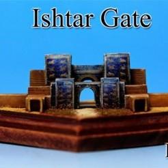 Imprimir en 3D gratis Puerta de Ishtar -Irak-, tokyovirtualworld