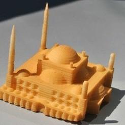 Free STL file My Muhammad Ali Mosque(1:1000), tokyovirtualworld