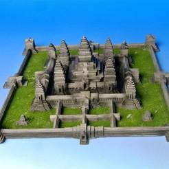 Free STL My Angkor wat(1:1000), tokyovirtualworld