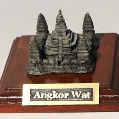 Free 3D print files My angkor wat(1:2400), tokyovirtualworld