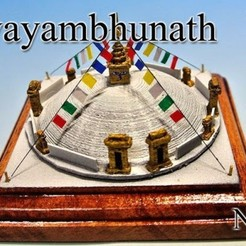 Free 3D printer files Swayanbhunath in Nepal, tokyovirtualworld