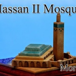 Free 3D print files Hassan II Mosque -Morocco-, tokyovirtualworld