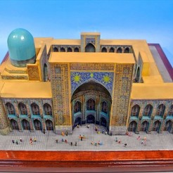 Free 3D model My Samarkand (1:220), tokyovirtualworld