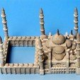 Free 3D printer files My Sultanahmet Camii(1:1000), tokyovirtualworld