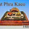 Descargar diseños 3D gratis Wat Phra Kaeo en Tailandia, tokyovirtualworld