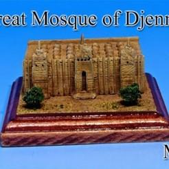 Free 3D printer designs The Great Mosque Djenne -Mali-, tokyovirtualworld