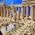 Download free STL 1:160 Parthenon, tokyovirtualworld