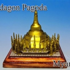 Free 3D model Shwedagon Pagoda in Myanmar, tokyovirtualworld