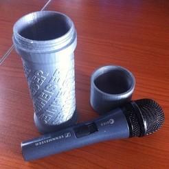 Descargar archivos STL gratis Funda para micrófono E815S de Sennheiser, Lurgnarb