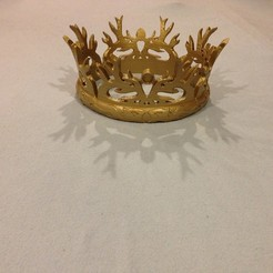 Download free 3D model Game of Thrones: Joffrey Baratheon's Crown, Lurgnarb