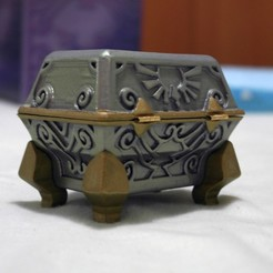 Free STL files The Legend of Zelda: Skyward Sword Goddess Chest, Lurgnarb