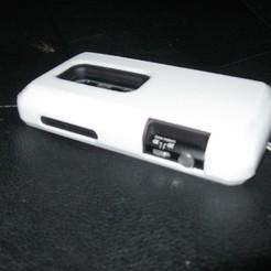 Diseños 3D gratis HTC Evo 3D Extended Battery Case (Caja de baterías extendida), Lurgnarb