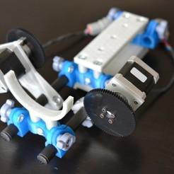 Descargar archivos 3D gratis Cámara DSLR con rieles de 15 mm de diámetro, Lurgnarb
