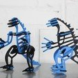 Free 3D printer files Zilla, Lurgnarb