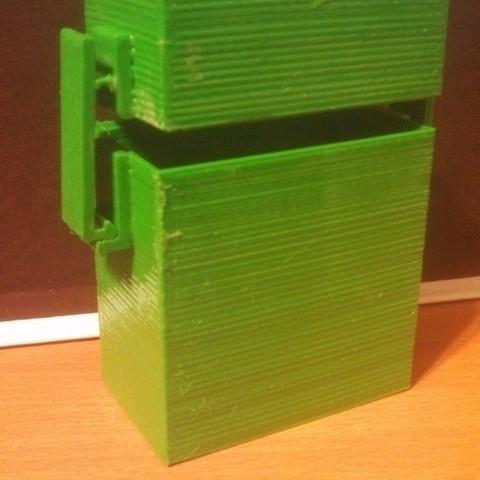 IMG_20130403_210014_490_display_large.jpg Télécharger fichier STL gratuit Boîte avec système de verrouillage *NOUVEAU • Modèle pour imprimante 3D, Khuxtan