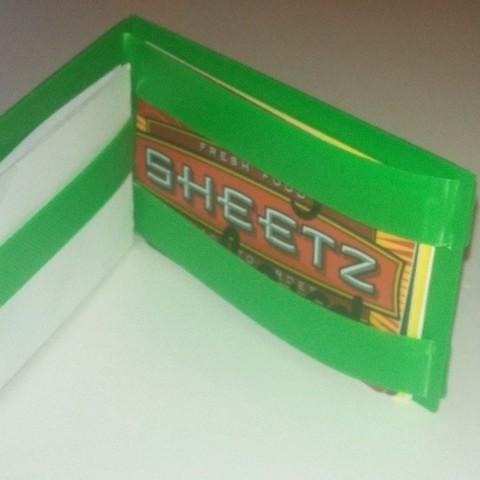 Télécharger fichier STL gratuit Mon portefeuille magique personnalisé V2 - avec logos personnalisés et bretelles imprimables • Modèle imprimable en 3D, Khuxtan