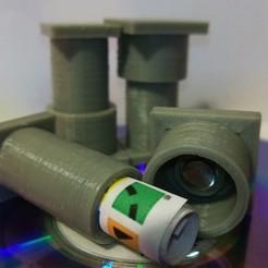 Télécharger plan imprimante 3D gatuit Geocache Micro Container, Khuxtan