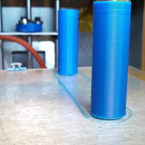 Télécharger objet 3D gratuit Écrou sans filetage Solidoodle pour tige lisse de 8 mm - lit en aluminium, Khuxtan