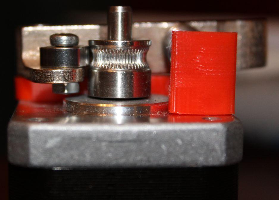 bottom_display_large.jpg Download free STL file MK8 Spring Loaded Upgrade Designed for Stainless Steel Printing • 3D print model, Laevalia