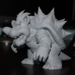 Download free 3D printing templates Bowser, Laevalia