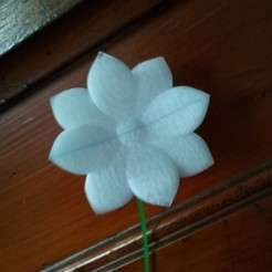 Download free 3D printer templates flower, Laevalia