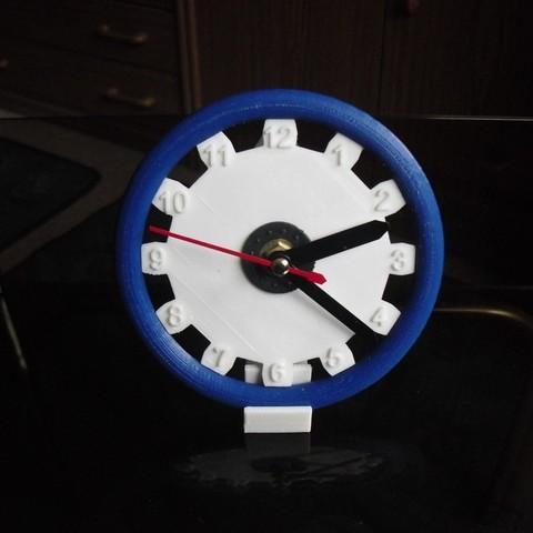 Download free STL file Clock 3 • 3D print object, Wailroth3D