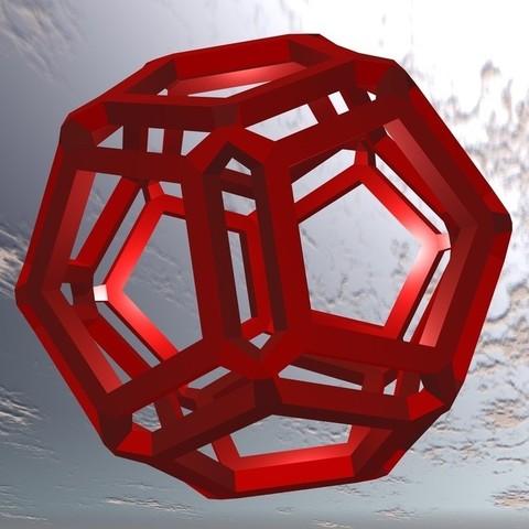 3D_Objekt_5_2_display_large.jpg Download free STL file 3D object 5 • 3D printing design, Wailroth3D