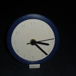 Free 3D printer files clock, Wailroth3D