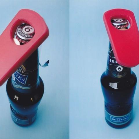 Download free STL file bottle opener • 3D printer template, Wailroth3D