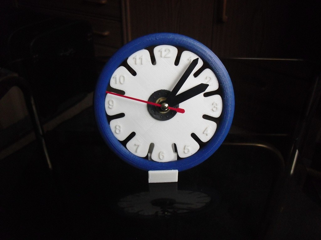 CIMG0477_display_large.jpg Download free STL file Clock 4 • 3D printer object, Wailroth3D