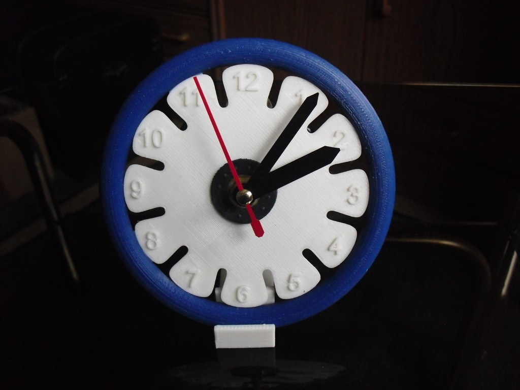 CIMG0478_display_large.jpg Download free STL file Clock 4 • 3D printer object, Wailroth3D