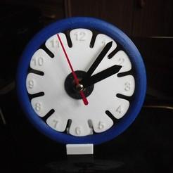 Télécharger plan imprimante 3D gatuit Horloge 4, Wailroth3D