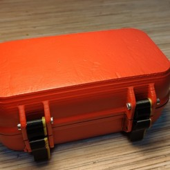 Download free 3D printing files Customizable Rugged Waterproof Box, bigmaxx1