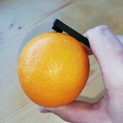 Download 3D printing templates orange peeler (Orangen Schäler), tomtaxi