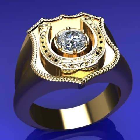 3D printing model gypsy ring 5mm round, veogente
