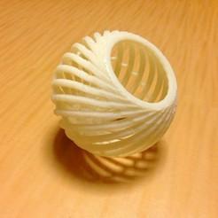 Télécharger plan imprimante 3D gatuit Panier sphérique, Tarkhubal