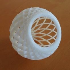 Descargar modelo 3D gratis Cesta de celosía globular, Tarkhubal