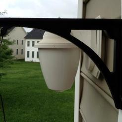 Impresiones 3D gratis Cesta colgante/soporte para el comedero de pájaros, Prunaen3d