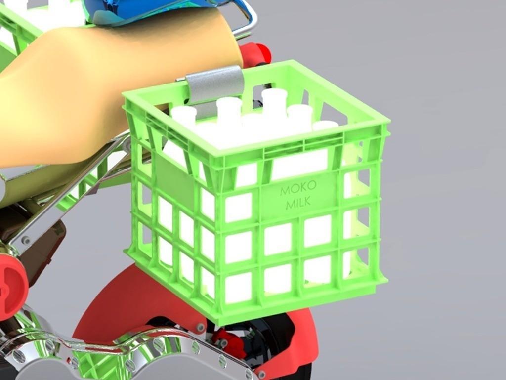 1_display_large.jpg Download free STL file Milk Crate • Model to 3D print, Skyralris