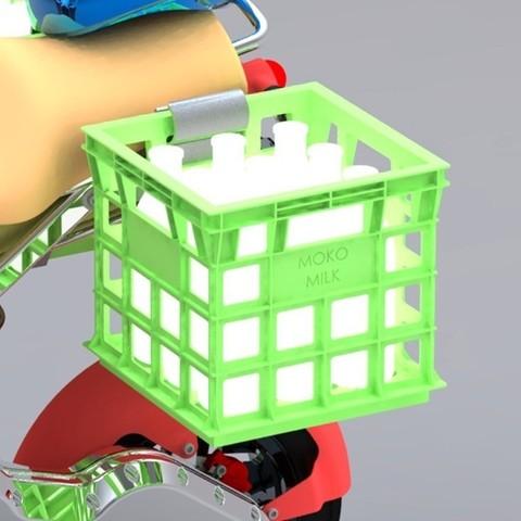 Download free 3D model Milk Crate, Skyralris