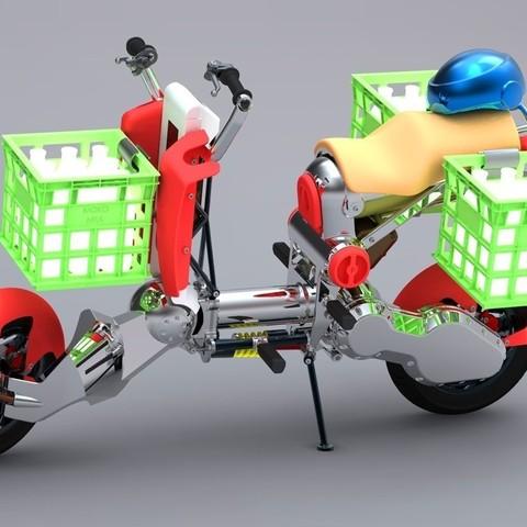 2_display_large.jpg Download free STL file Milk Crate • Model to 3D print, Skyralris