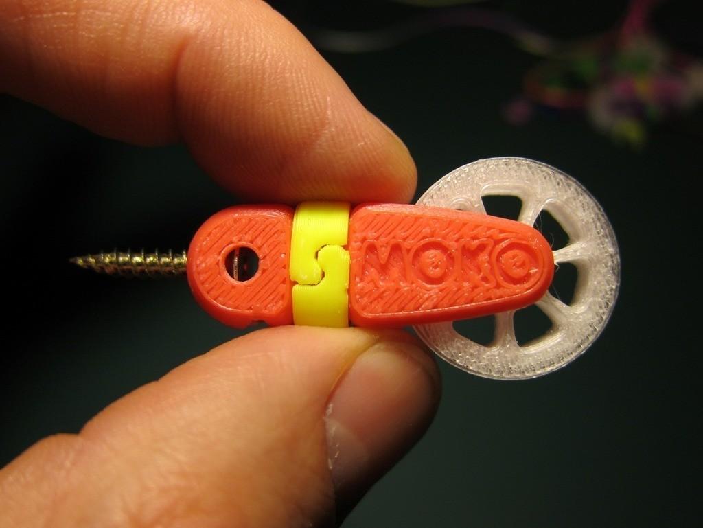 1_display_large.jpg Download free STL file MOKO Mini Pulley • 3D printer design, Skyralris