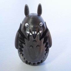 Free STL Totoro Gears, Gaenarra