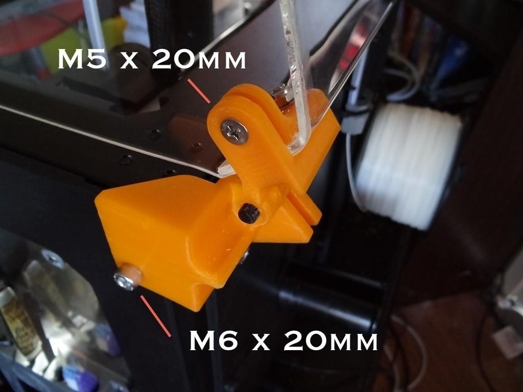 enclosure_mounting_hardware_4_display_large.jpg Télécharger fichier STL gratuit Matériel de montage de boîtier pour réplicateur 2 • Objet pour impression 3D, Gaenarra