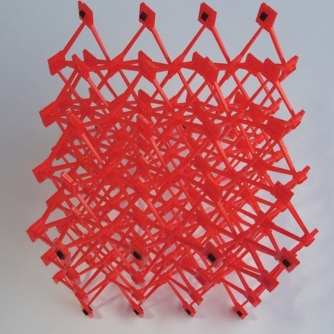 DSC00418_display_large.jpg Download free STL file Snap-build Cellular Structure • 3D printer object, Gaenarra
