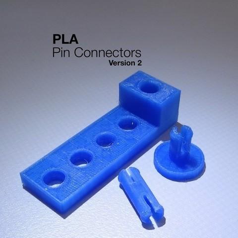 Download free 3D model PLA Pin Connectors v2, Gaenarra