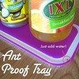 Download free STL Ant Proof Tray, Gaenarra