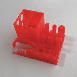 Free 3D printer designs Downward Blower Duct for Replicator 2, Gaenarra