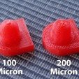 Impresiones 3D gratis Superficie Acabado Calibración Forma de ensayo, Gaenarra